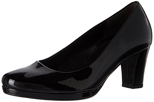 Gabor Shoes Damen Comfort Fashion Pumps, Schwarz (87 Schwarz), 40.5 EU
