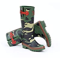 Evercreatures Camouflage Tall Wellies UK 7/EU 40