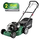 Qualcast 41cm Wide Self Propelled Petrol Lawnmower - 125CC.