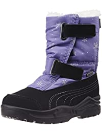 Puma Women's Acima NG GTX PS Black and Purple Mesh Boots - 9 UK/India (43 EU)