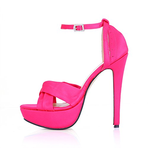 Femmina sandali nuovi prodotti estate cena donne scarpe nero Seta impermeabile mercers desktop il nastro ad alta scarpe tacco Black