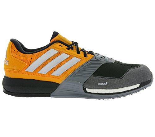 adidas Herren Crazytrain Boost Laufschuhe Naranja / Plateado / Gris (Eqtnar / Plamat / Gris)