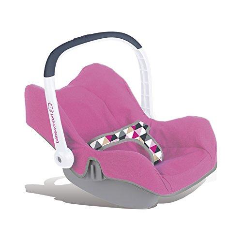 Smoby 240225 - Bébé Confort Siège avec Poignée Orientable - Coffre de Rangement