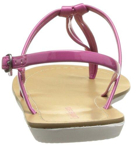 Calvin Klein Jeans Sage Patent, Sandales femme Rose (Fus)