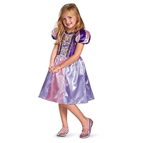 ngled Rapunzel Sparkle Classic Girls Costume, 4-6X ()