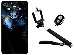 APE Back Cover and Selfie Stick for Samsung Galaxy On8