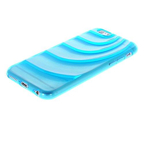 MOONCASE TPU Silicone Housse Coque Etui Gel Case Cover Pour Apple iPhone 6 Plus Vert Azur