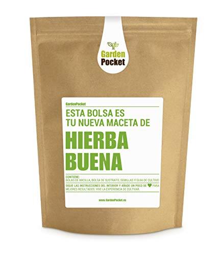 Garden Pocket - Kit de Cultivo de HIERBABUENA - Bolsa Maceta