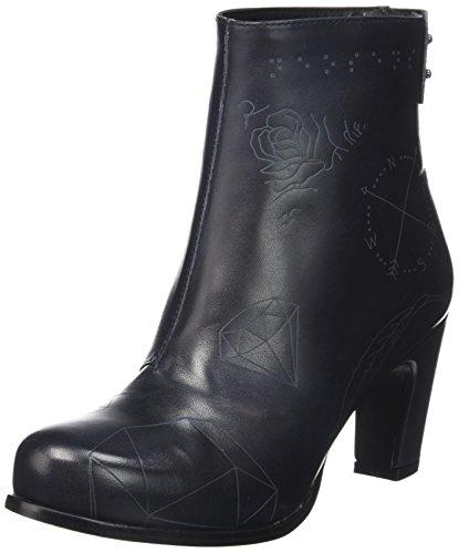 Neosens Altesse 572, Bottes Classiques Femme Noir (Ebony)