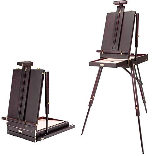 Soho Urban Künstler leicht Mahagoni Holz französische Kunst Staffelei (zusammenklappbar 53,3x 35,6x 15,2cm) 30% leichter als andere easels- Reichhaltige Mahagoni-Finish -