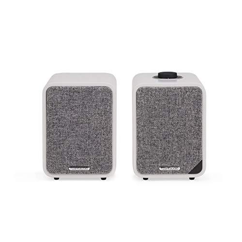Ruark Audio Bluetooth Active Speakers - Ruark Audio MR1 MKII Bluetooth Active Speakers, Soft Grey - MR1 MK2 SG