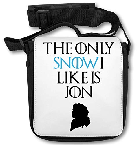 The Only Snow I Like is Jon Schultertasche (Film Quote T-shirts)