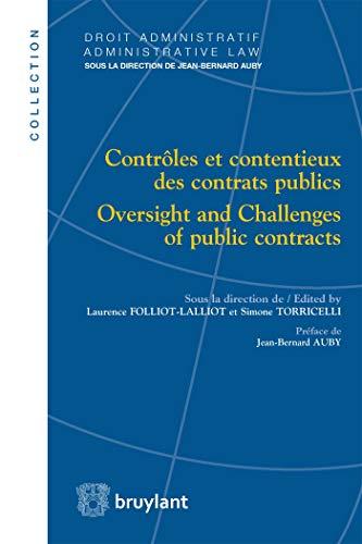Contrôles et contentieux des contrats publics