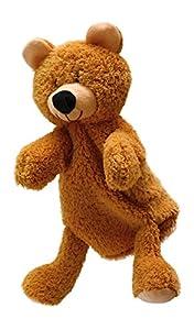 ABA 28cm marioneta de mano de oso con patas (Beige)