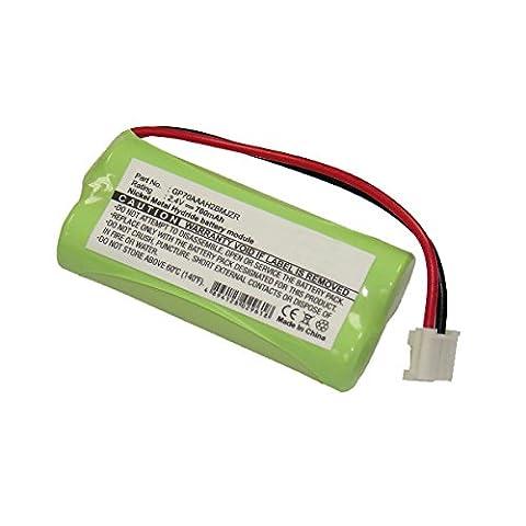 NX - Telefon Akku 2.4V 700mAh Conn - Blister(s) x 1 - BT-800 ; BY0929