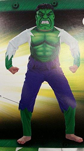 Kostüm Hulk Das Hunde - Kostüm hulk mit Kleid und Maske 3-5Jahre