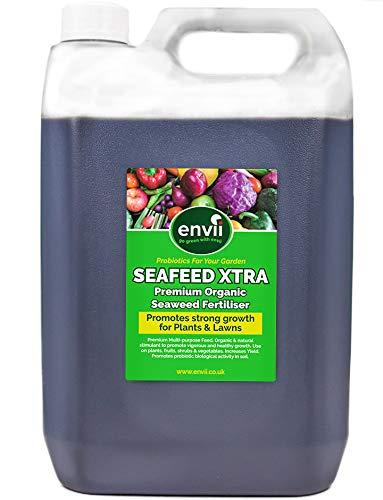 Envii Seafeed Xtra - Premium bioaktiver Seetang-Flüssigdünger und Wachstumsbeschleuniger (5L)