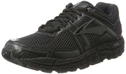 brooks Addiction 12, Zapatos para Correr para Hombre, Multicolor (Blac