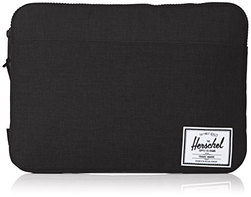 "Herschel Anchor Sleeve - Funda para Apple MacBook Air 13"", Negro"