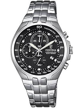 Festina Herren-Armbanduhr Chronograph Quarz Edelstahl F6843/4