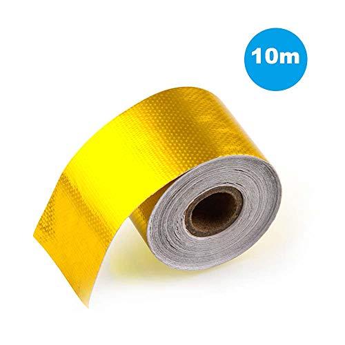 Auspuff Aluminiumfolie Klebeband Hochtemperatur Wrap Reflective Heat Shield -