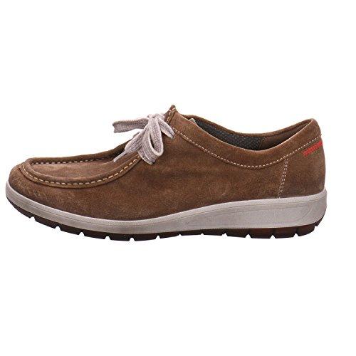 ara  12-49806-05 Tokio, Chaussures de ville à lacets pour femme schlamm (mix)
