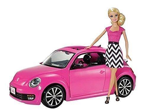 Preisvergleich Produktbild Mattel V1866 - Barbie Volkswagen New Beetle