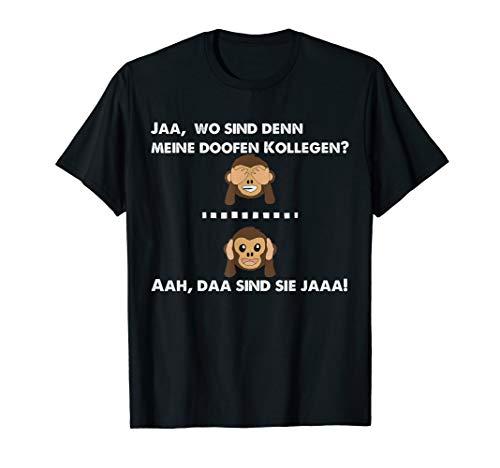 Kollegen Abschied Rente lustiger Spruch Geschenk T-Shirt