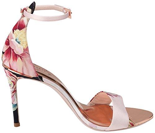 Multicolore Alla Cinturino Baker Caviglia Donna poesia Charv Ted Sandali Dipinta ZAOvnq