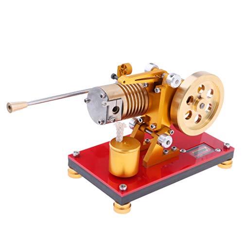 Stirlingmotor Bausatz groß Sterling Engine Heißluftmotor Dampfmaschinen ()