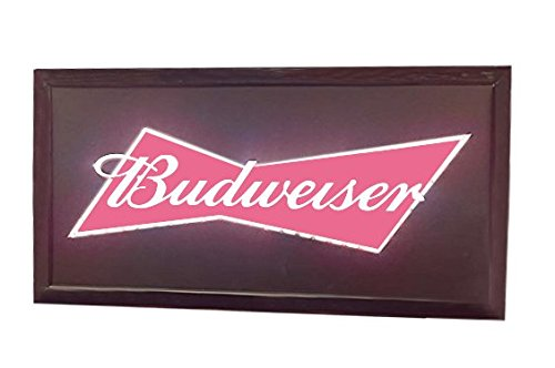 Budweiser blinkende LED Aufhängen Man Cave Wand -