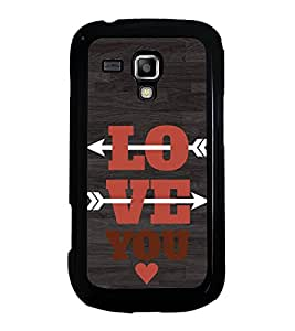 Fuson Designer Back Case Cover for Samsung Galaxy S Duos 2 S7582 :: Samsung Galaxy Trend Plus S7580 (Love Love Hearts Infactuation Togather In Relationship)