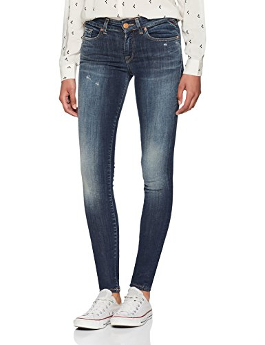 ONLY NOS Damen Skinny Onlalba Reg SK Dnm Jeans BL206 Noos, Blau (Dark Blue Denim), W28/L32