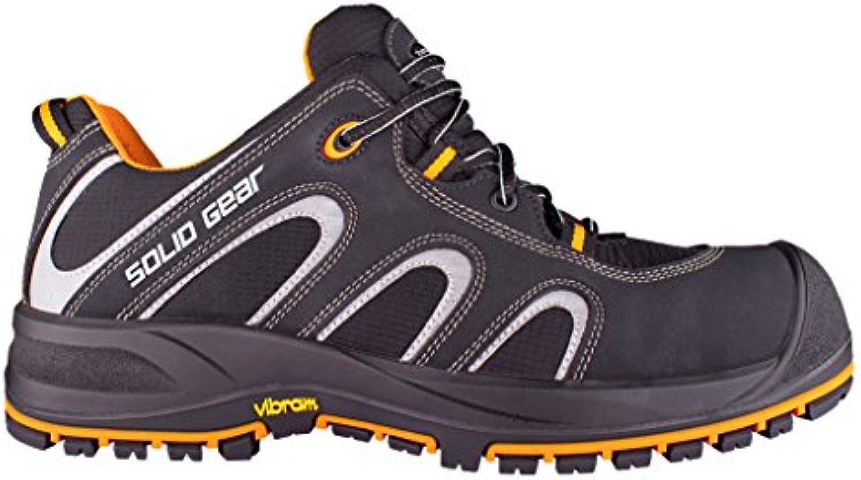 Solid Gear de SG7300139 Griffin Chaussures de Gear sécurité S3 Taille 39 Noir/OrangeB01LVZD2PBParent b23cba