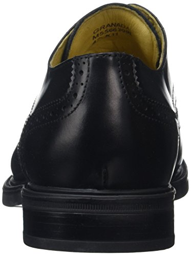 Steptronics Mens Granada Scarpe Brogue, Nero Nero (nero)
