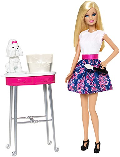 Barbie Colour Me Cute Doll & Dog Barbie-puppen Aus Schottland