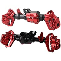 CNC Machined Aluminum Front Rear Portal Axles Housing For Traxxas TRX-4 Crawler - Compare prices on radiocontrollers.eu