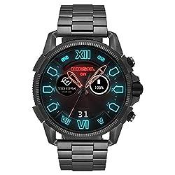 """Touchscreen-Smartwatch mit interaktiven und individuell einstellbaren Zifferblättern, 1.39"""" Display, 454 x 454 Auflösung, kompatibel mit Android 4.4+ und iOS 9.3+, kabellose Synchronisierung mit dem Handy über Bluetooth 4.1, Smartphone-Benachrichtigu..."""