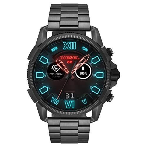 Diesel Herren-Smartwatch mit Edelstahl Armband DZT2011