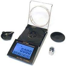 Dipse FB-20 - Balanza digital de 0,001 g (0,005 ct) hasta 20