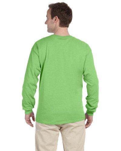 Fruit of the Loom T-shirt - 4930R Heavy Cotton Grün - Kiwi