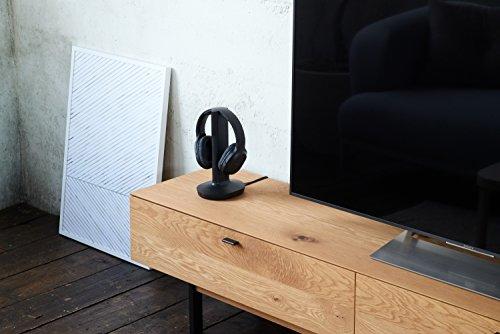 Sony MDR-RF895RK kabellose Kopfhörer (bis zu 100 Meter Reichweite, Geräuschminimierungssystem, 40-mm-Treiber, automatische Frequenzsuche, bis zu 20 Stunden Akkulaufzeit) Schwarz - 16