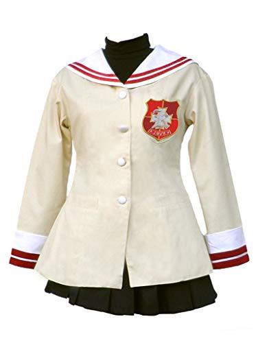 Chong Seng CHIUS Cosplay Costume Nagisa Furukawa School Uniform Outgit for Second Grade