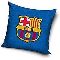 FCB FC Barcelona Funda de cojín, algodón, Azul Marino, 40x 20x 1cm