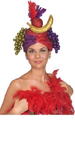Carmen Miranda Hat Erwachsene (One Size) (Carmen Miranda Kostüm)