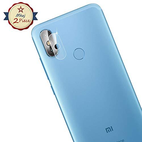 Mkej [2 Piezas Protector Lente Cámara Xiaomi Mi A2