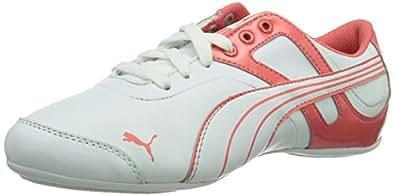 Puma Takala L Wn'S Nm, Baskets mode femme - Blanc (White-Dubarry 03), 37 EU