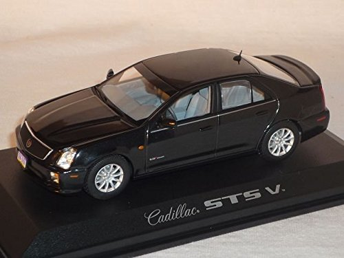 cadillac-sts-v-limousine-schwarz-2006-1-43-norev-modell-auto-modellauto-sonderangebot