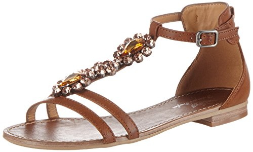 Fritzi aus Preussen Damen Sandals 02 Offene, Braun (Nougat), 40 EU