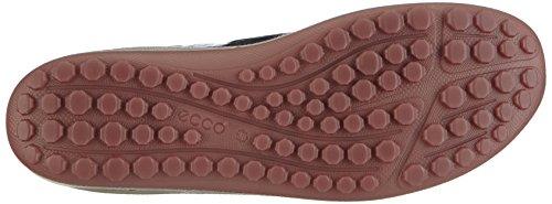 Ecco Biom Grip Lite, Chaussures Multisport Outdoor Femme Argent (Black/Petal Trim)